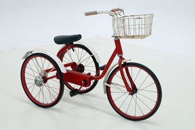 Tricycle - c1950's Childs Cyclops Style Tricycle