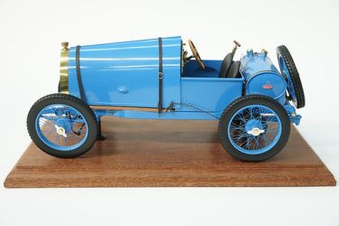 Model Car - Scratchbuilt Bugatti Brescia - From the 'Ian Cummins Collection'