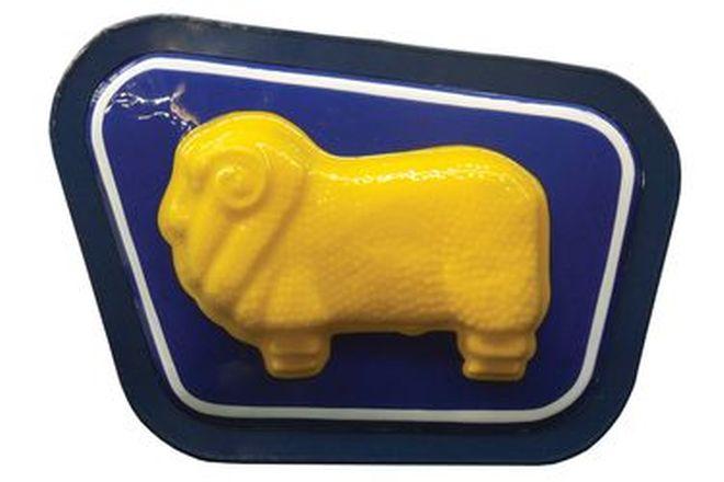 Light Box - Golden Fleece Converted to 240 volt - Reproduction (85 x 60cm)