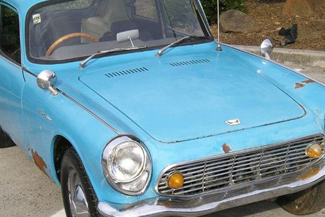 Honda S600 Coupe (Project)
