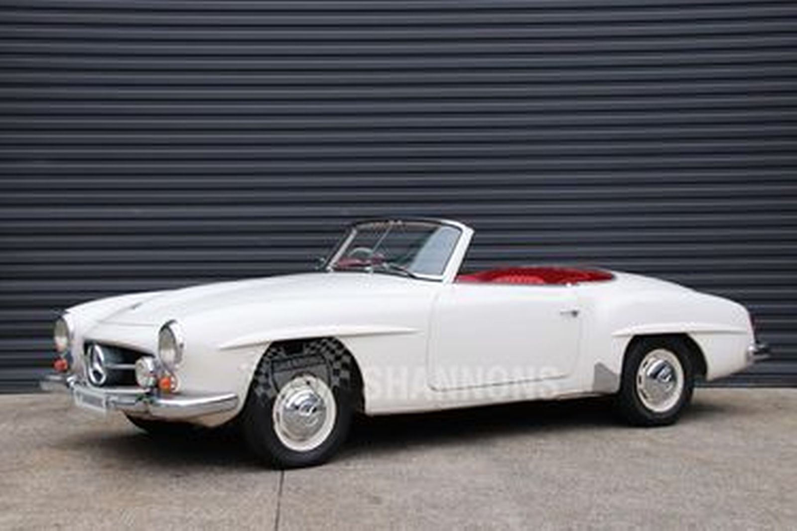 Sold Mercedes Benz 190sl Convertible Auctions Lot 61 Shannons