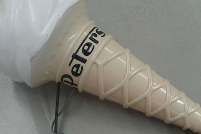 Light - c1960's Peters Ice-Cream Cone with Bracket  (80cm tall)