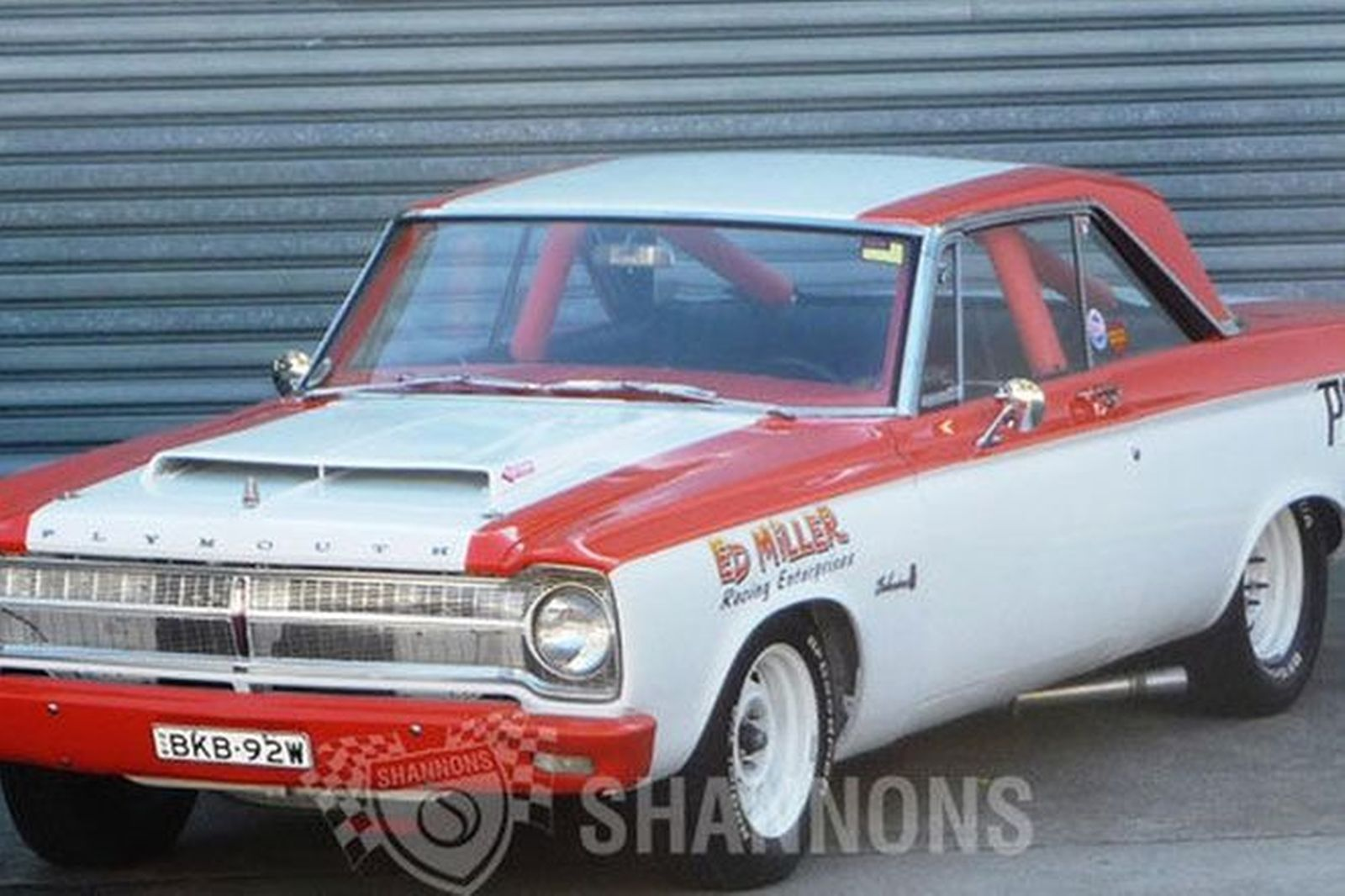Plymouth Belvedere Ed Miller Drag Car Replica Lhd