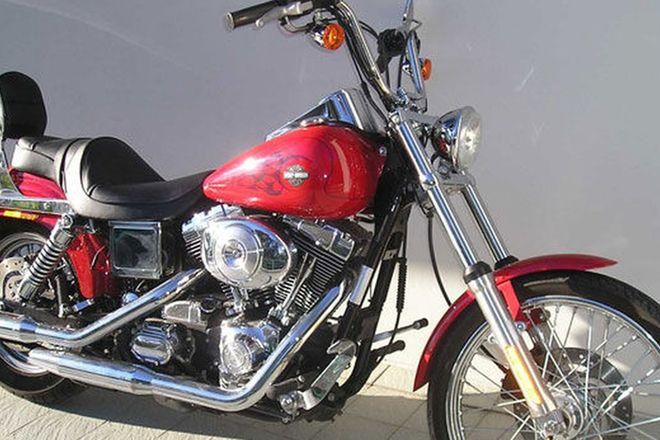 Harley Davidson Dyna Wide Glide Motorcycle