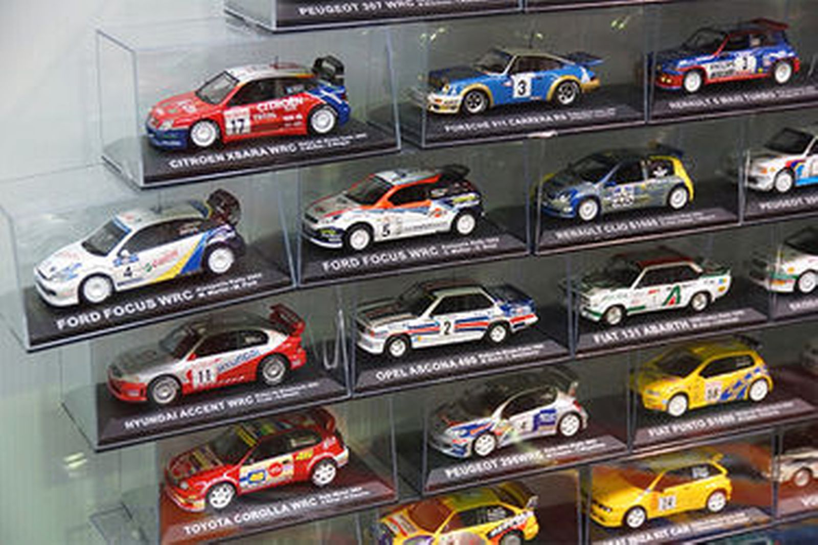 Car Auctions Online >> Sold: Model Cars & Magazines - 70 x Rally Cars by De Agostini (Scale 1:43) Auctions - Lot C ...