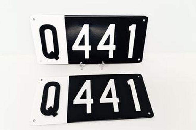 Number Plates - QLD Numerical Number Plates