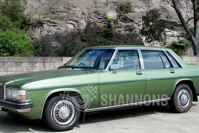 Holden WB Statesman De Ville Sedan