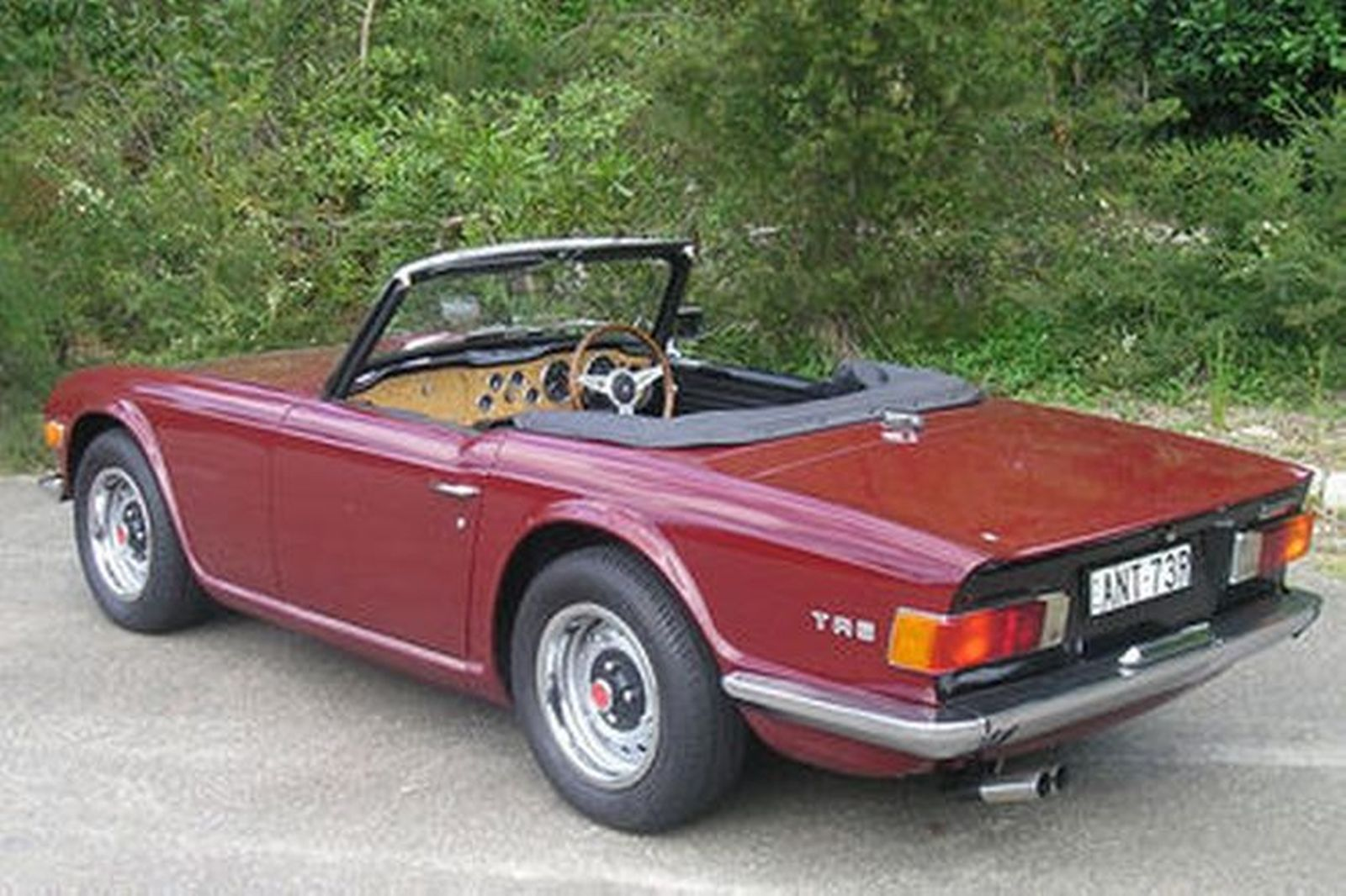 triumph tr6 roadster auctions lot 4 shannons. Black Bedroom Furniture Sets. Home Design Ideas