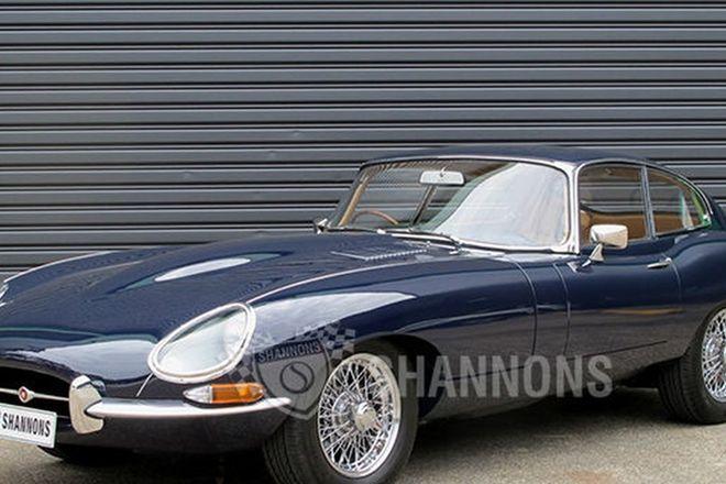 Jaguar E-Type 4.2 Series 1 Coupe