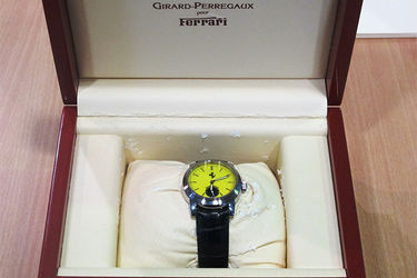 Watch - Girard Perregaux Ferrari in box