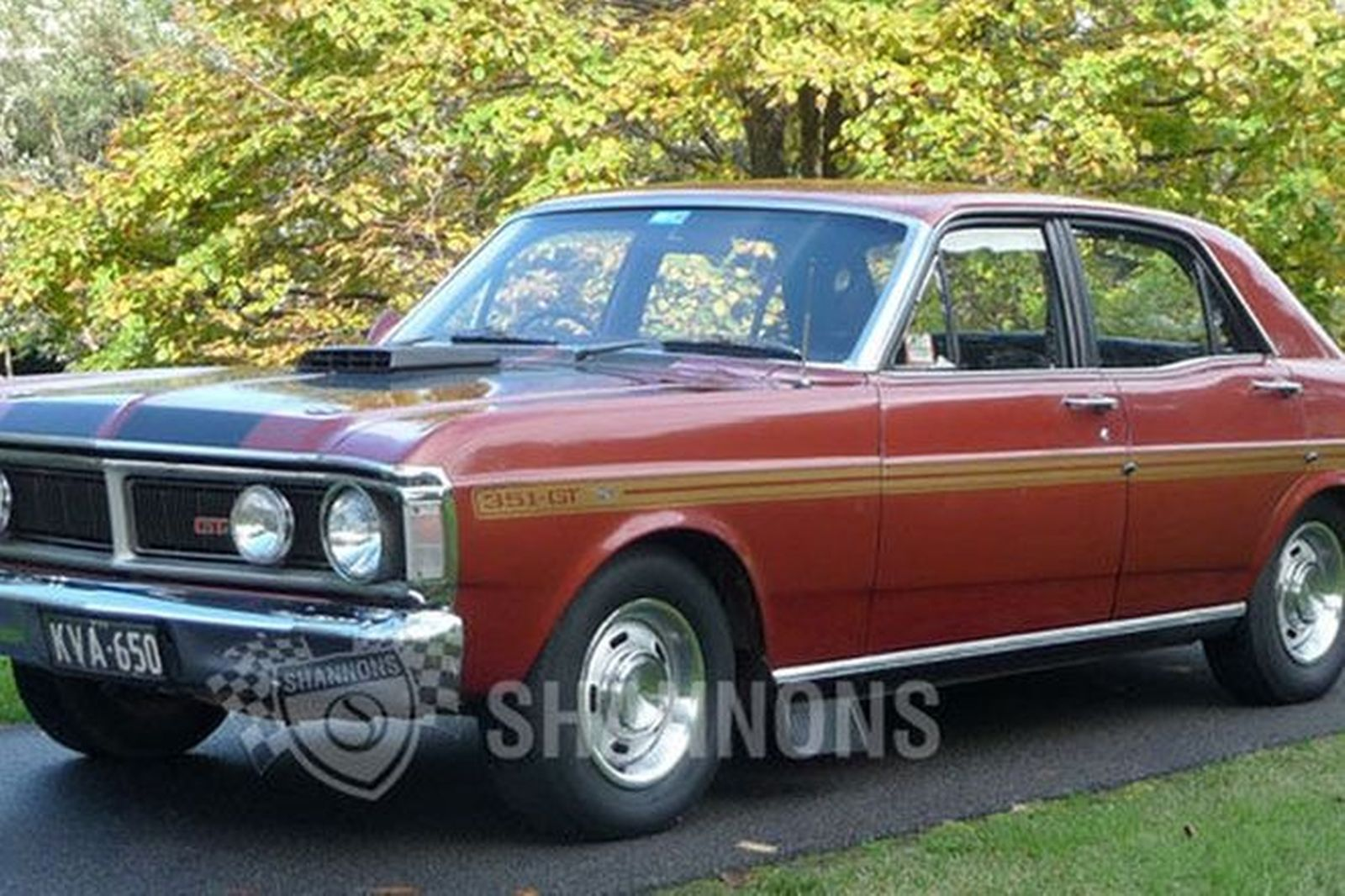 sold ford falcon xy gt sedan auctions lot 48 shannons. Black Bedroom Furniture Sets. Home Design Ideas
