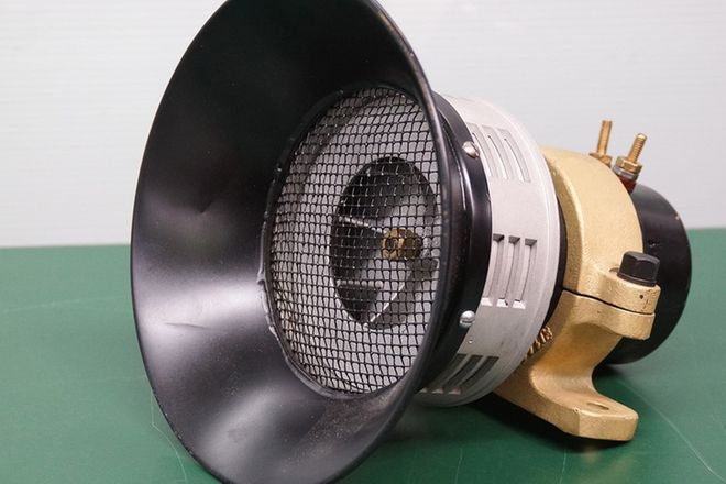 Siren - Sterling Siren Fire Horn (converted to 12 volts)