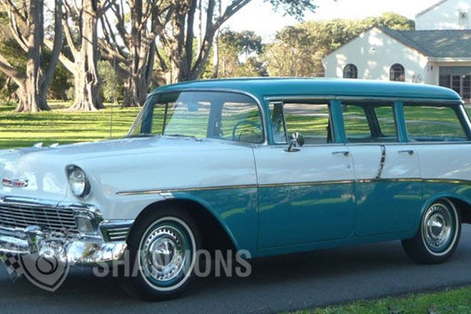 Chevrolet 210 Station Wagon (LHD)