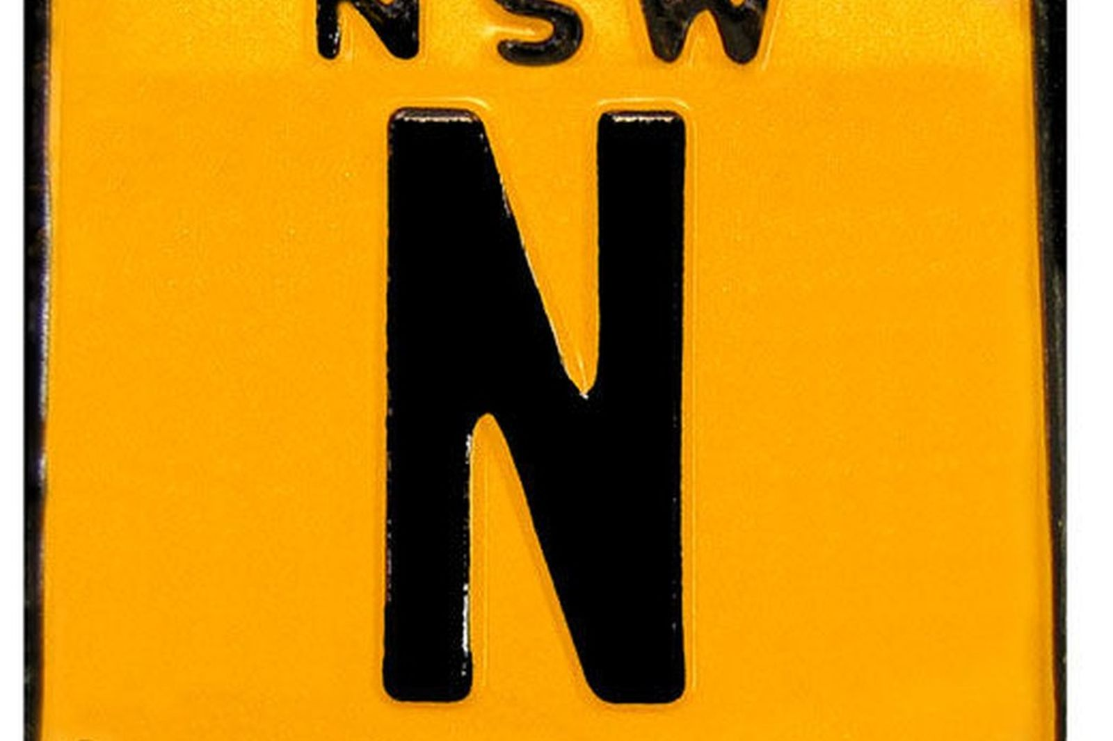 NSW  Number Plate