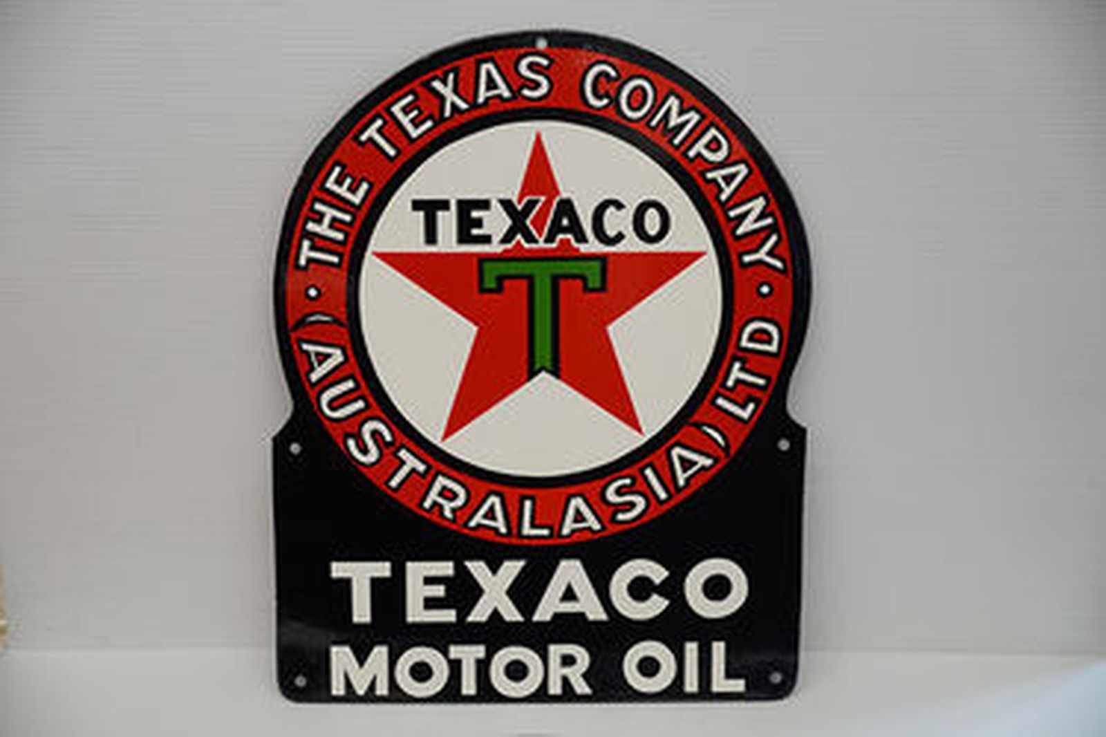 Sold enamel signs texaco motor oil genuine chevrolet parts enamel signs texaco motor oil genuine chevrolet parts reproduction sciox Image collections