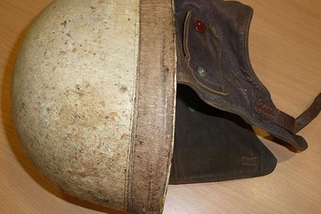Helmet - c.1950s Cromwells size 7¼ from the late David McKay`s estate