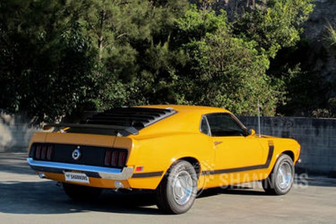 Ford Mustang Boss 302 Fastback (LHD)