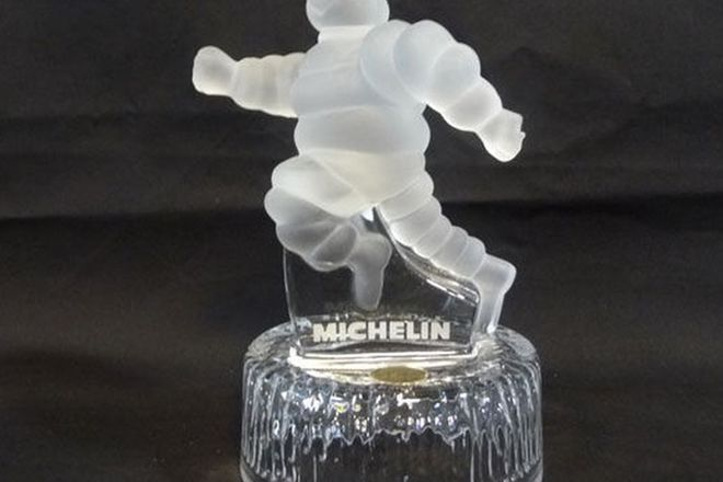 Statue - Michelin Crystal D'Arque Trophy