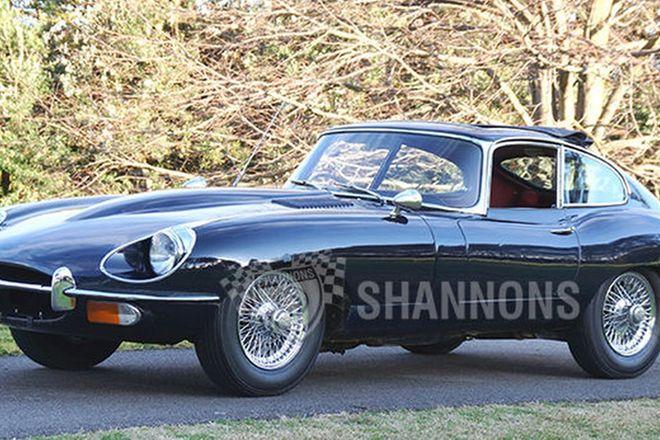 Jaguar E-Type 4.2 Series 2 Coupe