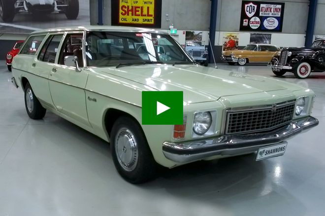 Holden HZ Kingswood SL Station Wagon