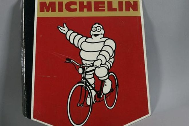 Aluminium Sign - Michelin Shield (Double Sided)