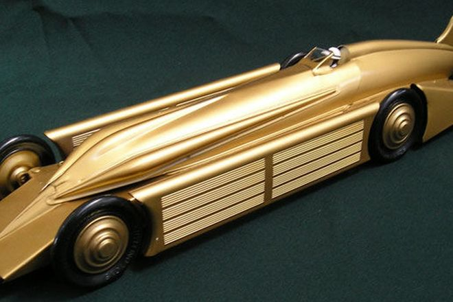 Model Cars - 1929 Golden Arrow & 1927 Sunbeam 1000 in boxes