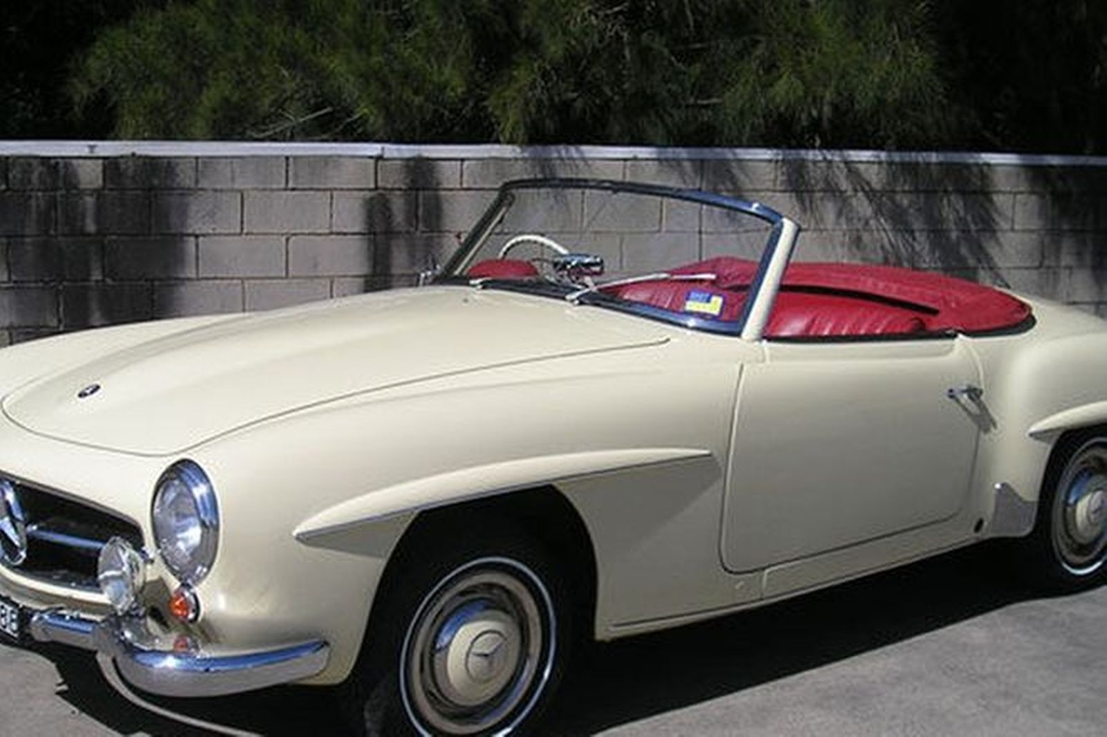 Sold mercedes benz 190sl convertible auctions lot 12 for Mercedes benz auction