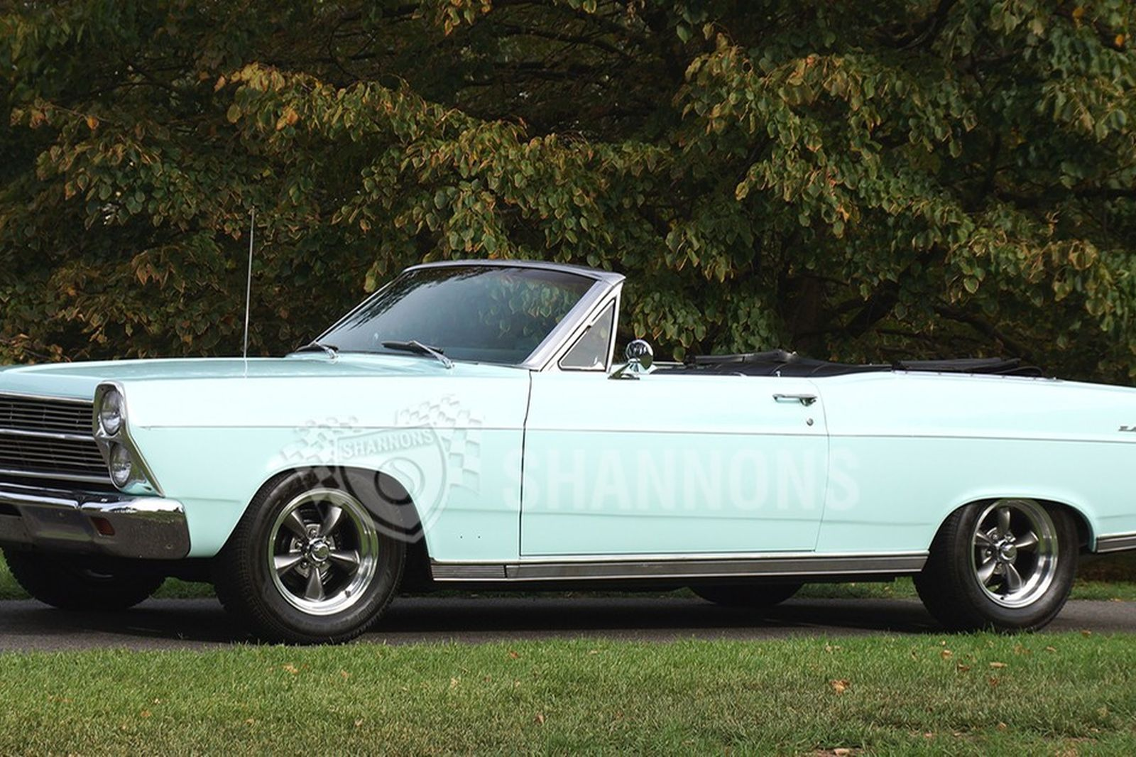 Ford fairlane 500 v8 convertible lhd