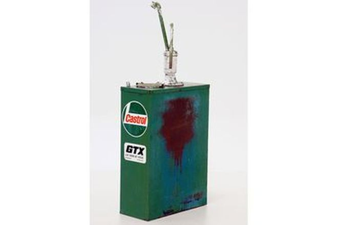 Hi Boy - Castrol Highboy with Pump Restored