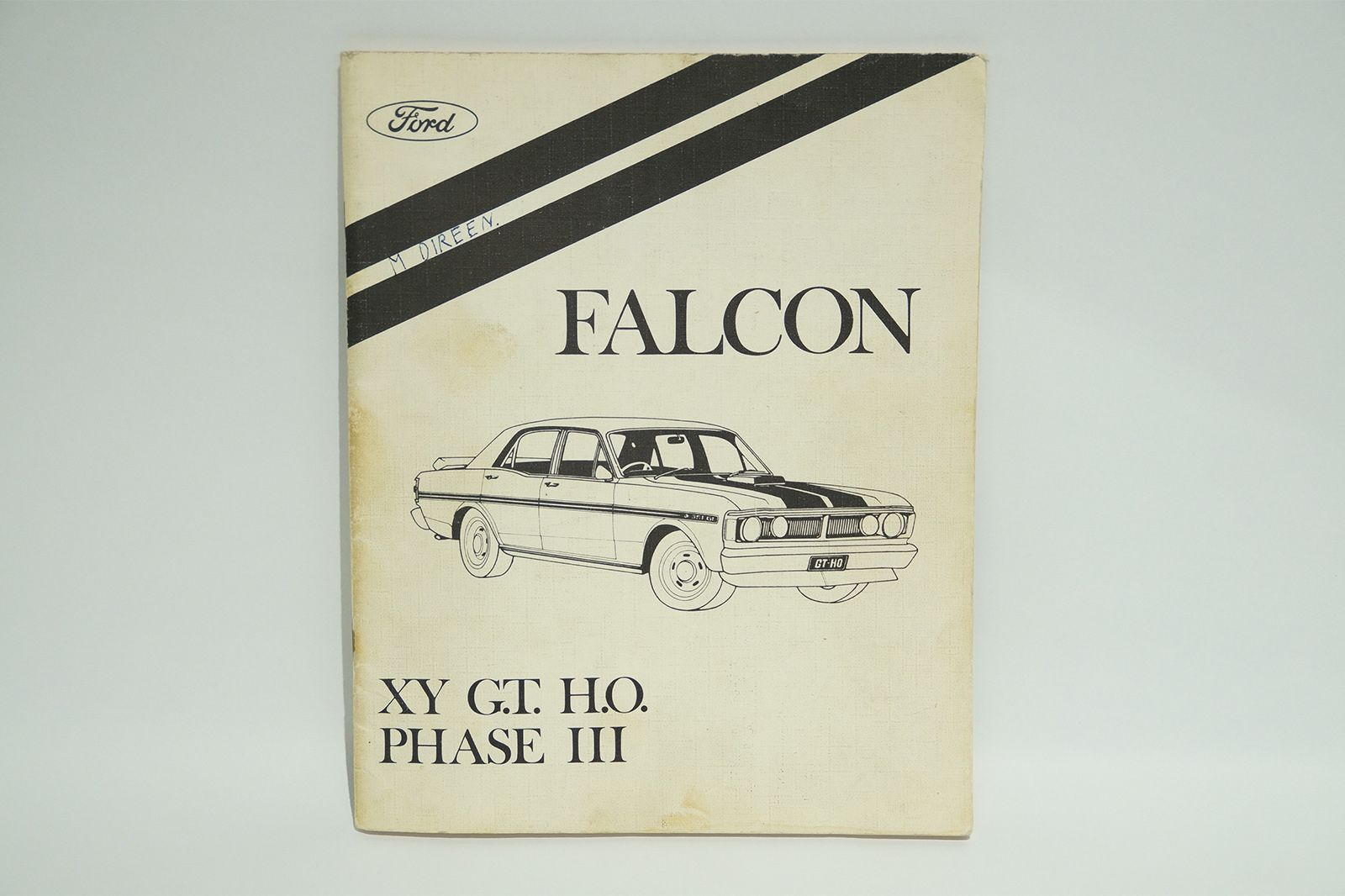 Ford Falcon GT and GT-HO Phase 3 Assorted Brochures & Advertising Materials
