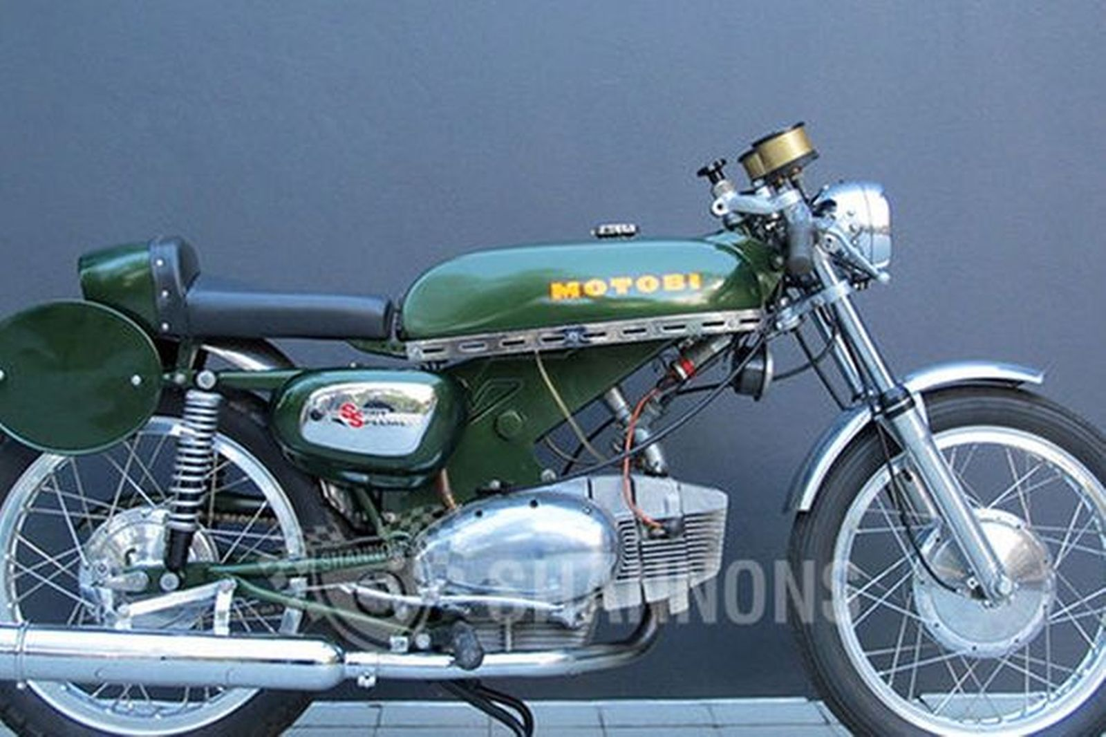 Sold: Benelli-Motobi Sports Special 250cc Motorcycle