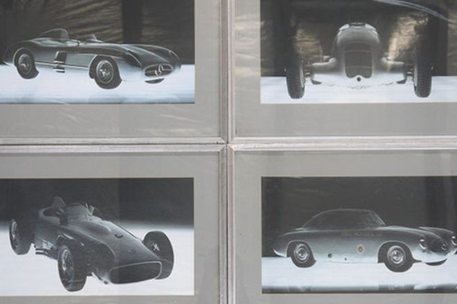 Framed Prints - 4 x Mercedes-Benz Silver Arrows (62 x 44cm)