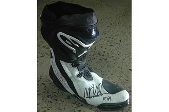 Miguel Oliveira #44 Signed Boot RF