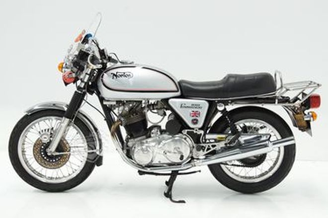 Norton Commando Mk3 850 Solo Motorcycle - From the 'Ian Cummins Collection'