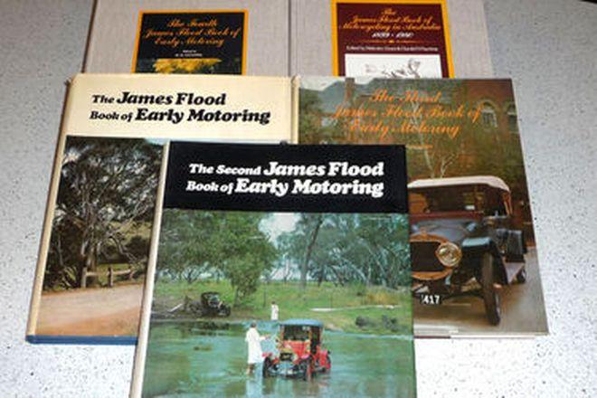 Books - James Flood Motoring Books (Volumes 1-5)