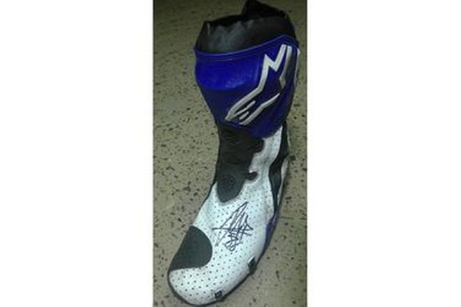 Jorge Martin #88 Signed Boot LF