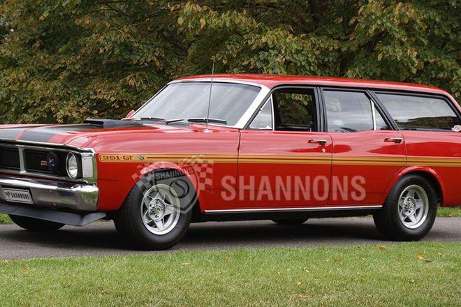 Ford XY Falcon V8 Station Wagon