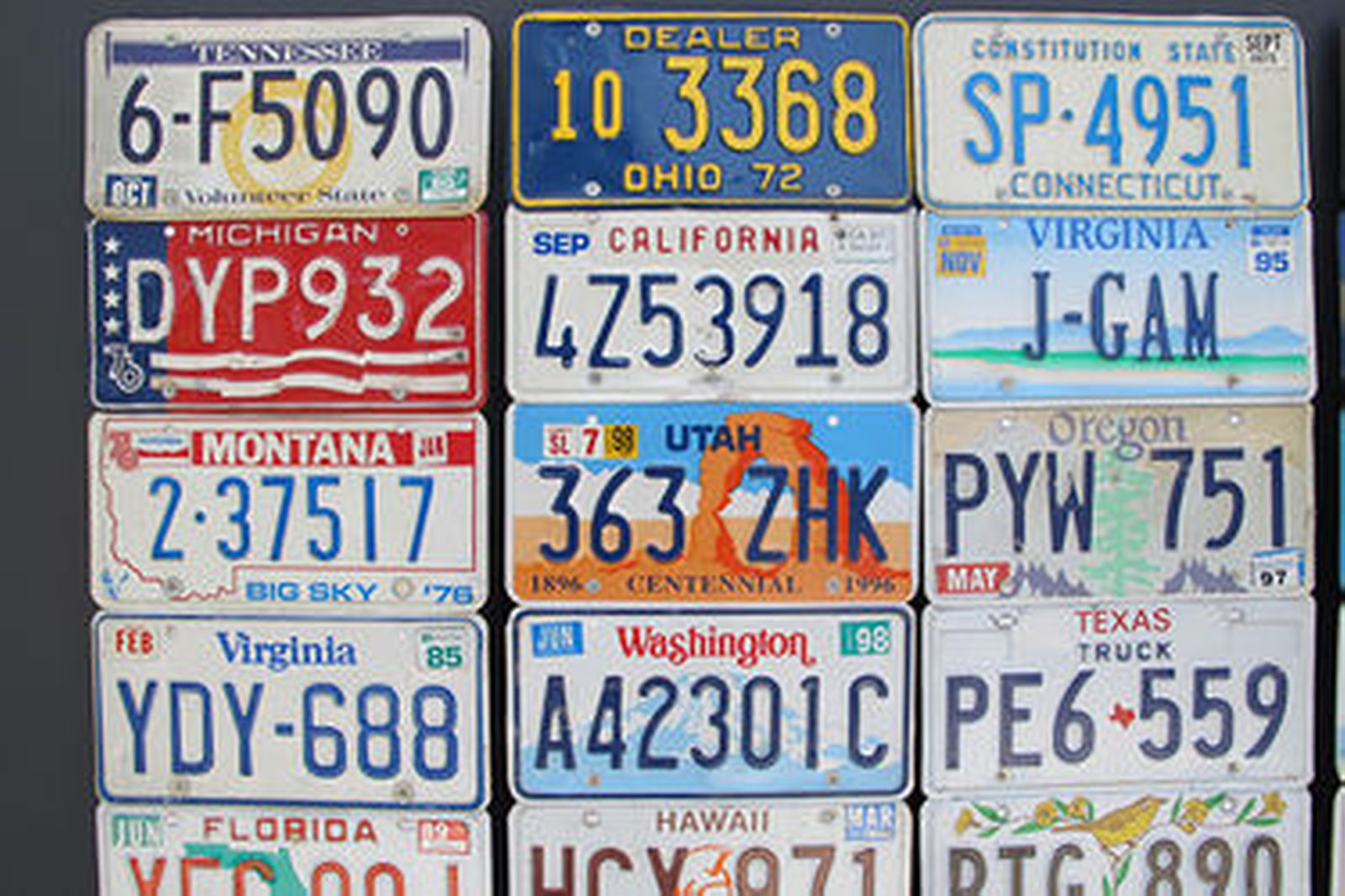 Online Auctions Canada >> Sold: Number Plates x 110 - USA and Canadian Number Plates Auctions - Lot D - Shannons
