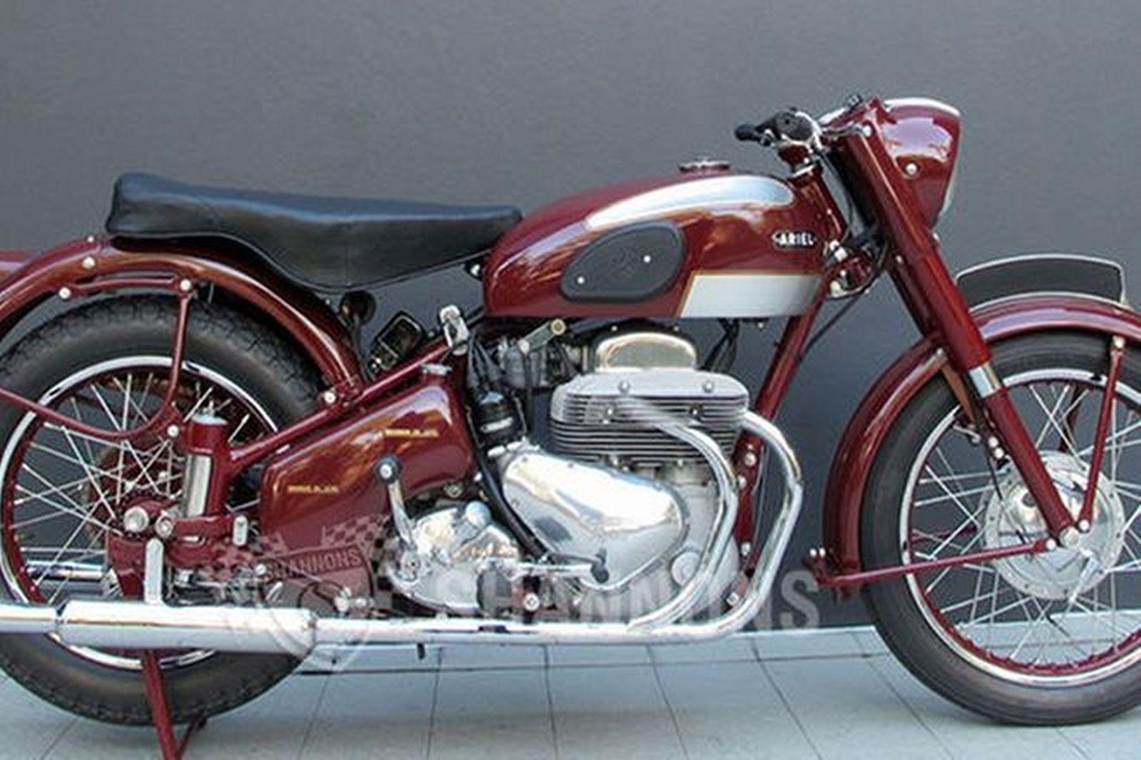 Ariel Square Four Mk Ii 1000cc Motorcycle Auctions Lot Z