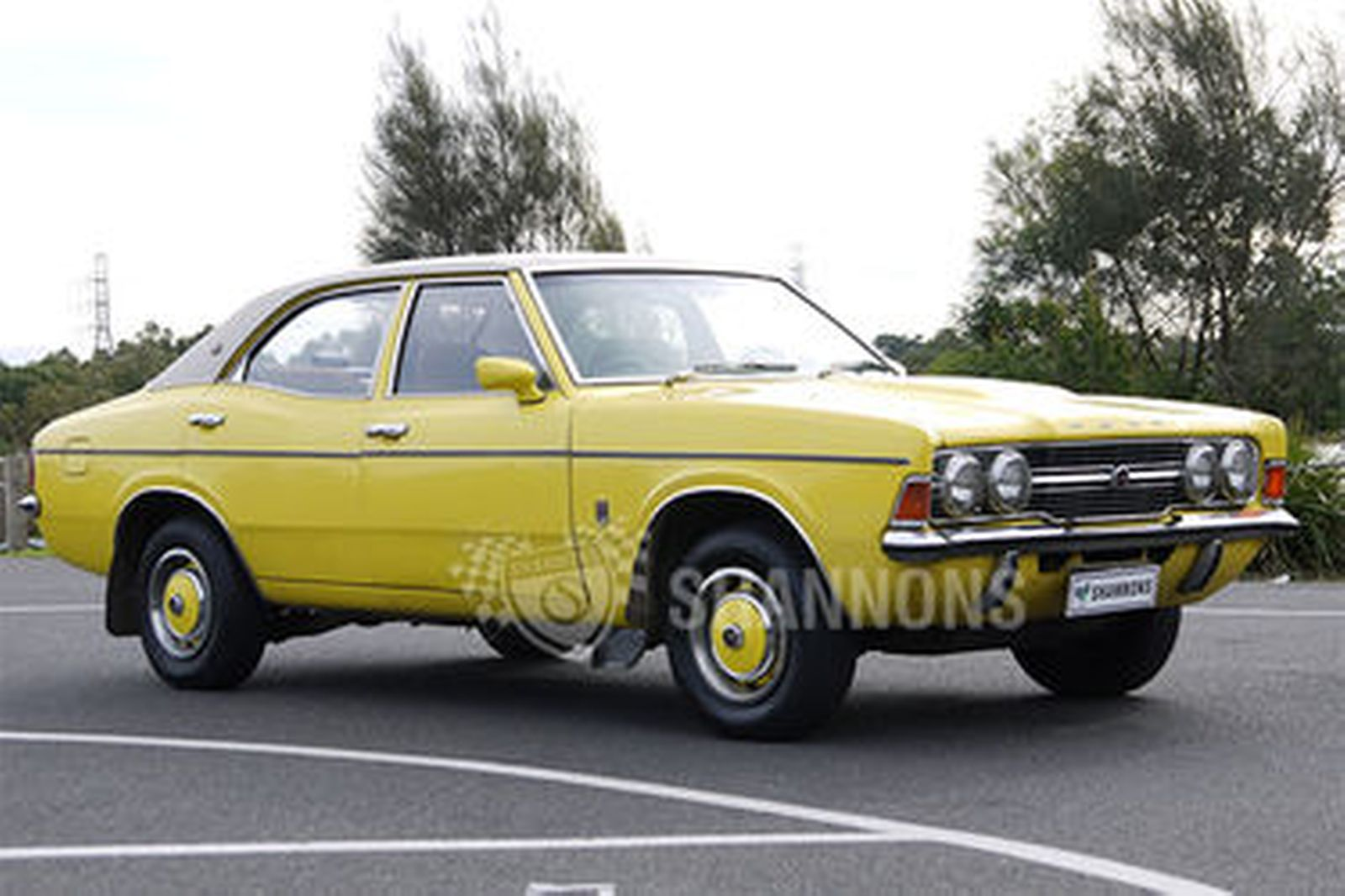 sold ford tc cortina xle sedan auctions lot  shannons