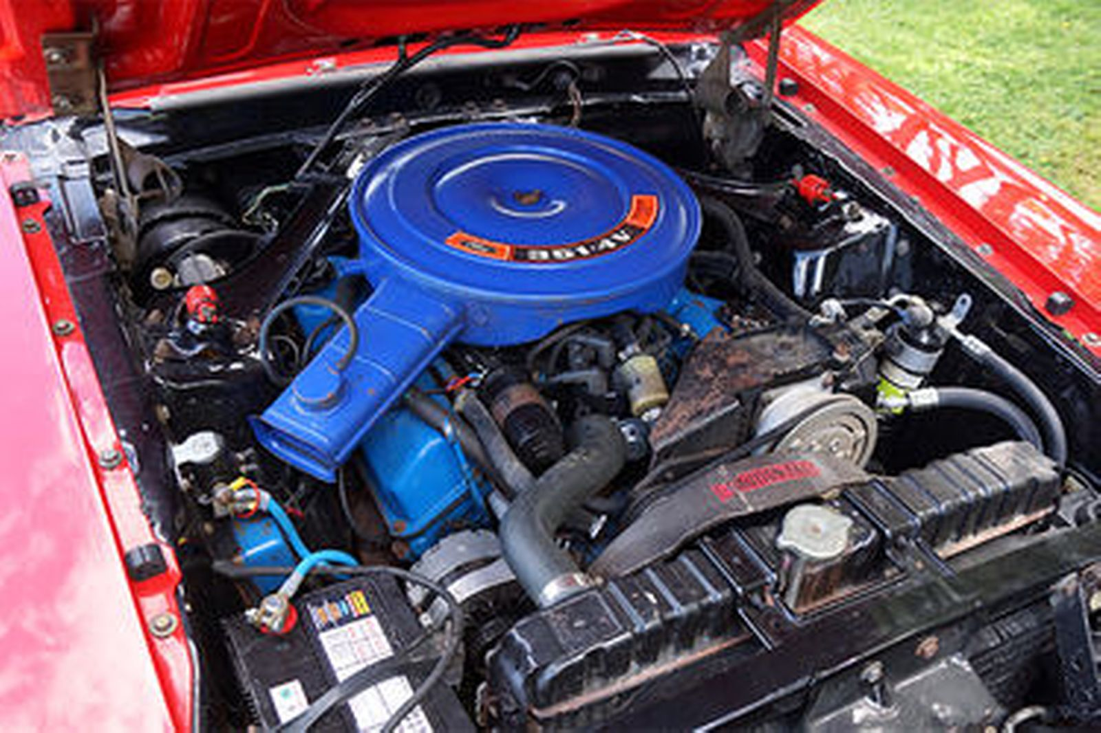 Ford Mustang Mach 1 351 Fastback (RHD)