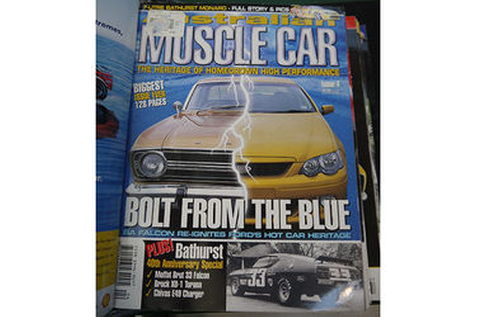 Magazines - Full Collection of Australian Muscle Car Magazine in Folders (Issue No.1 to 78)