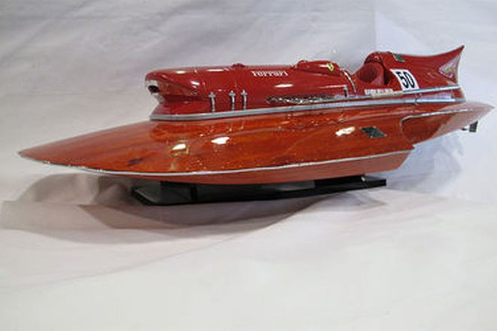 Model Boat - Ferrari Hydroplane (90cm Long)