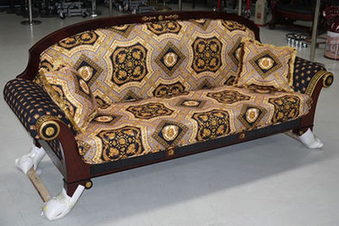 Lounge - Three Seater Versace style (As New)