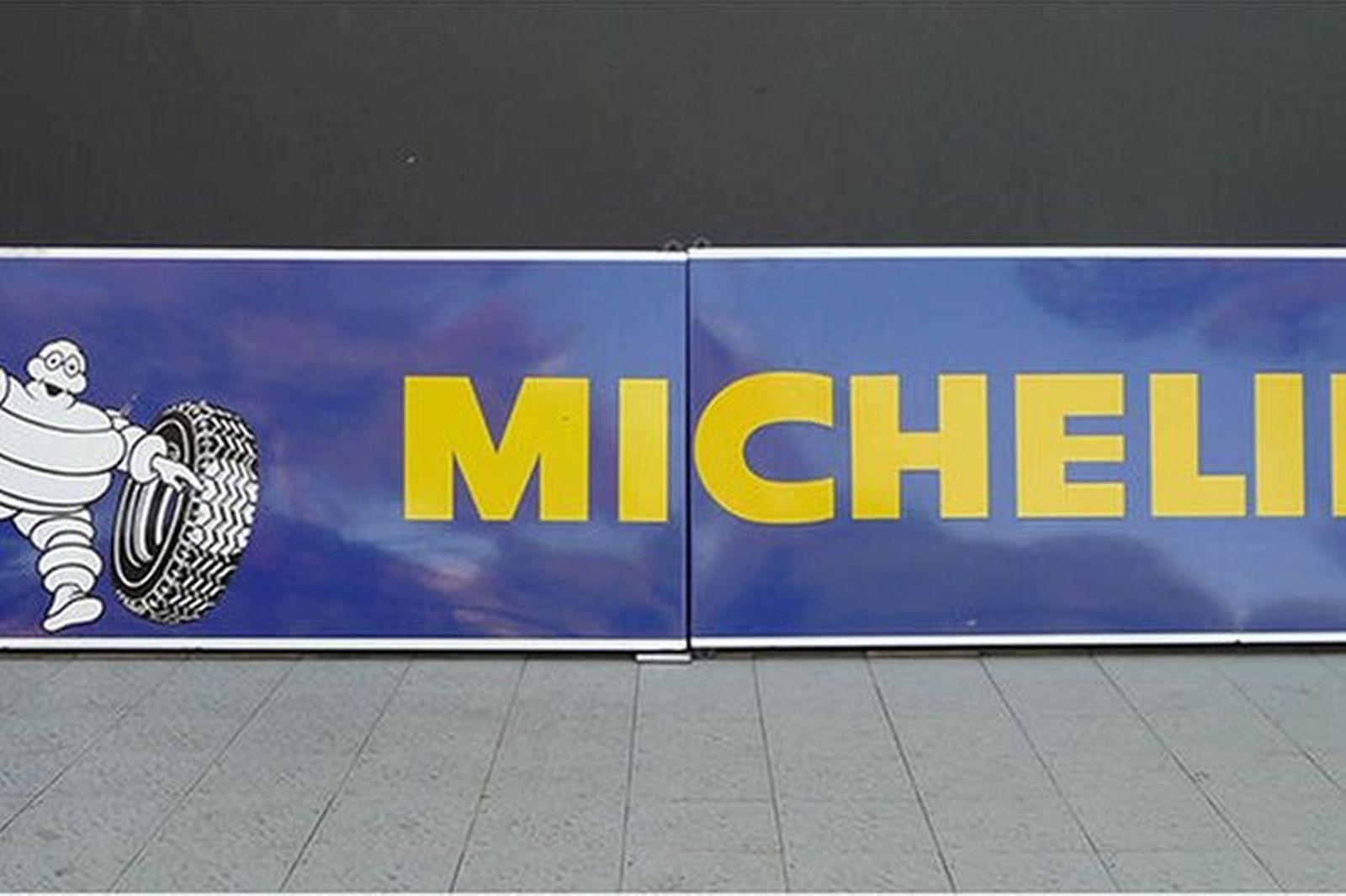 Enamel Sign - Large Two Piece Michelin (292 x 70cm)