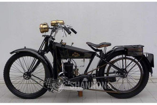 Allon (Alldays) 292cc Solo Motorcycle