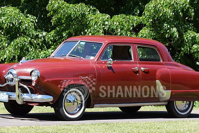 Studebaker Champion Sedan (LHD)
