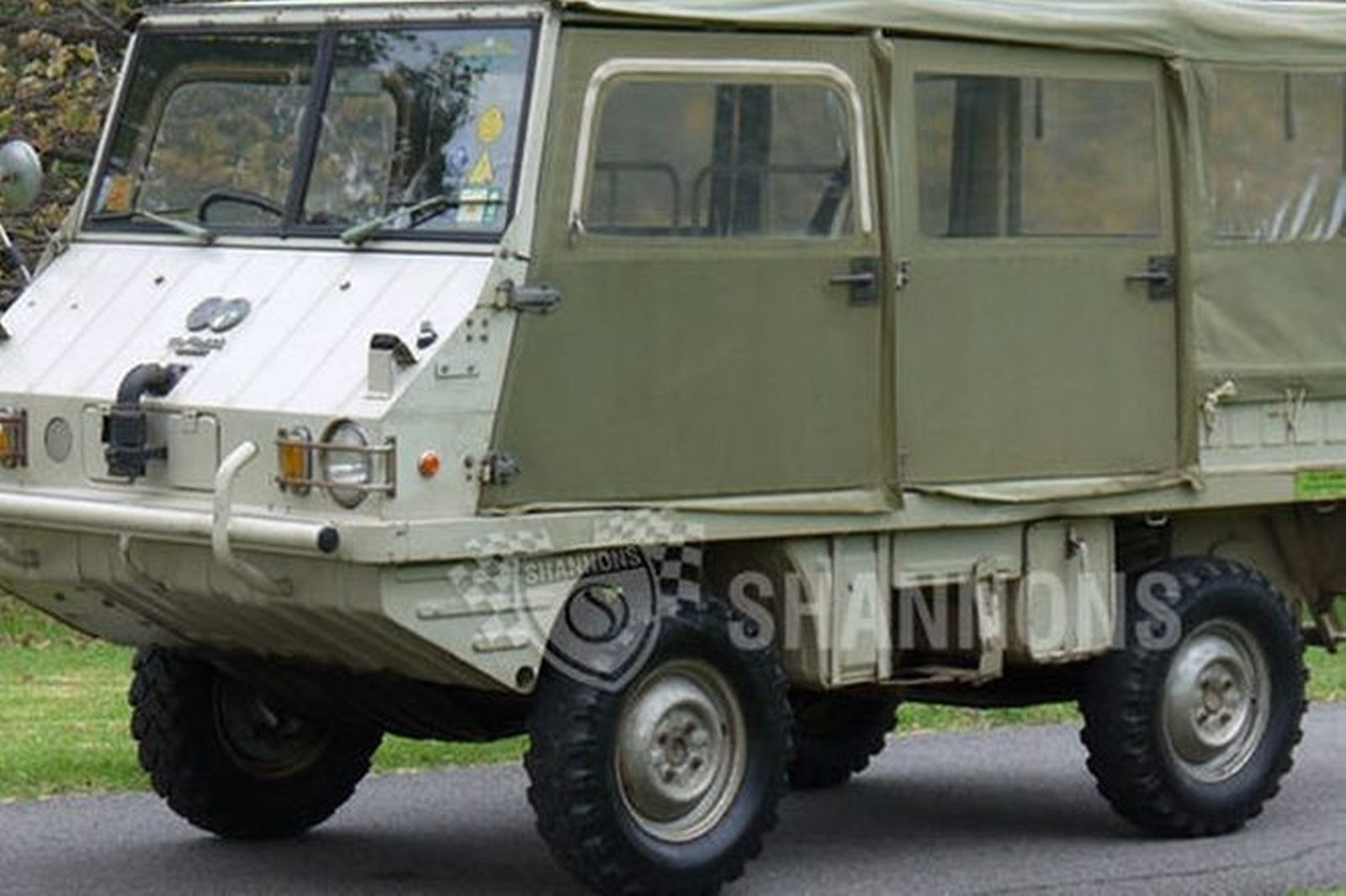 Sold Steyr Puch Haflinger 700 A P 4 Wheel Drive Auctions Lot 25