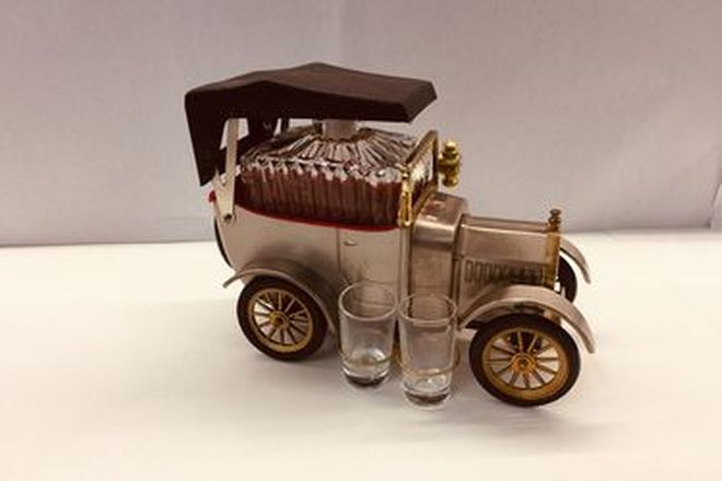 Model T Decanter 1918 empty