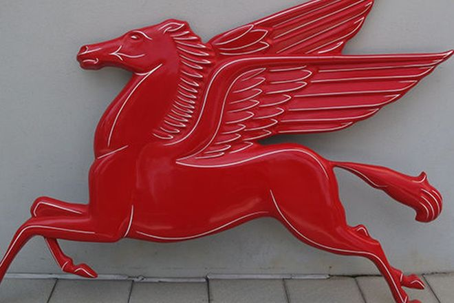 Sign - Flying Horse 'Pegasus' (Reproduction)
